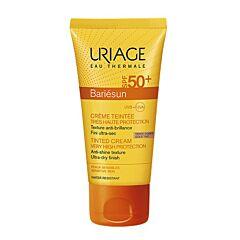 Uriage Bariésun Crème Teintée Très Haute Protection IP50+ Teinte Dorée Tube 50ml