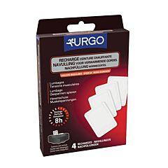 Urgo Recharges Ceinture Chauffante 4 Pièces