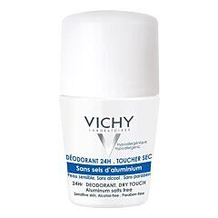 Vichy Déodorant Sans Sels dAluminium 24h Peau Réactive Roll-On 50ml