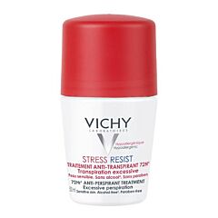 Vichy Déodorant Stress Resist Transpiration Excessive 72h Roll-On 50ml