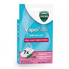 Vicks VapoPads Navulgeurpads Rozemarijn-Lavendel 7 Stuks