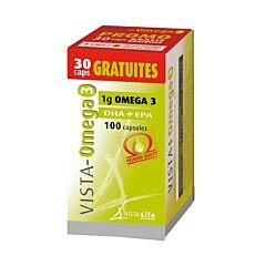 Vista Omega 3 Promo  70+30 Capsules GRATIS