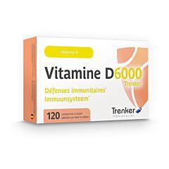 Vitamine D6000 Immuunsysteem 120 Tabletten