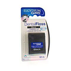 Elgydium Clinic Dental Floss Black Fil Dentaire 50m