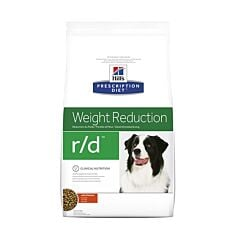 Hills Prescription Diet Weight Reduction R/D Hondenvoer Kip 4kg