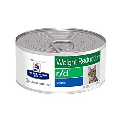 Hills Prescription Diet Weight Reduction R/D Kattenvoer 156g