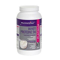 MannaVital Whey Proteine 94 Platinum Poeder 900g