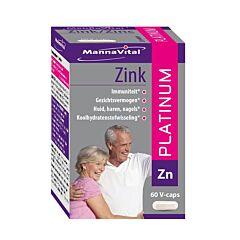 MannaVital Zink Platinum 60 V-Capsules