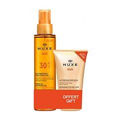 Nuxe Sun Bruiningsolie Gezicht/Lichaam SPF30 150ml + GRATIS Verfrissende Aftersun Melk 100ml