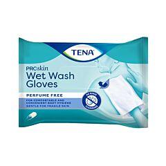 Tena Proskin Wet Wash Gloves Zonder Parfum 8 Stuks