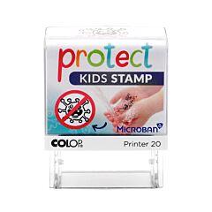 Protect Kids Stamp 1 Pièce
