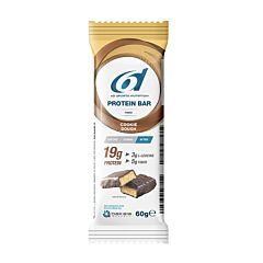 6d Sports Nutrition Protein Bar Cookie Dough 1x60g