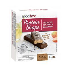 Modifast Protein Shape Reep Chocolade 6x27g