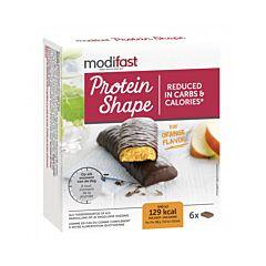 Modifast Protein Shape Reep Pure Chocolade/ Sinaasappel 6x31g