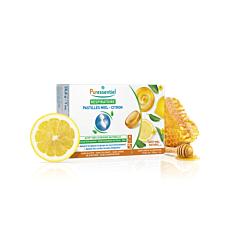 Puressentiel Respiratoire Pastilles Miel-Citron 18 Pièces