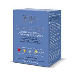 QuattroCardio CoQ10 + Omega 3 + Vitamines D3 & K2 60 Softgels + 30 Comprimés