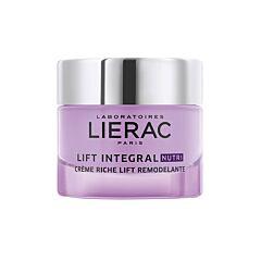 Lierac Lift Integral Nutri Crème Riche Lift Remodelante Peaux Très Sèches Pot 50ml