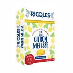 Ricqles Bonbons Citron Mélisse Sans Sucres 40g