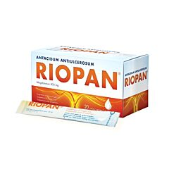 Riopan 800mg Brandend Maagzuur Suspensie 20x10ml Zakjes