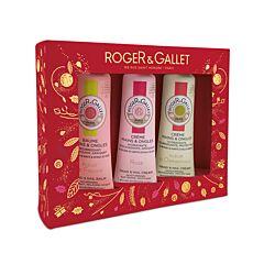 Roger & Gallet Geschenkkoffer Hand-en Nagelcrème Trio 2+1 GRATIS product