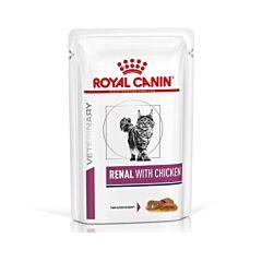 Royal Canin Renal Kip Kattenvoer 12x85g