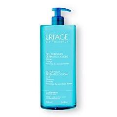 Uriage Gel Surgras Dermatologique Visage & Corps Peaux Sensibles Flacon Pompe 1l
