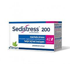 Sedistress 200mg Stress Mental 42 Comprimés