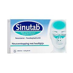 Sinutab 15 Tabletten