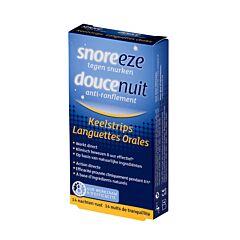 Snoreeze Douce Nuit Anti-Ronflement 14 Languettes Orales