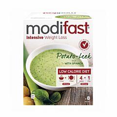 Modifast Intensive Soupe Pommes de Terre-Poireaux 8 Sachets x 55g