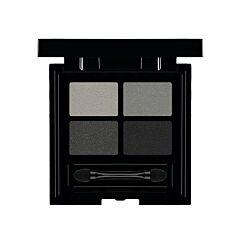 Les Couleurs de Noir Soft Touch Eyeshadow Quattro 01 Black Out 1 Pièce
