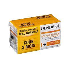 Oenobiol Solaire Intensif Peau Normale Cure 2 Mois 2x30 Gélules