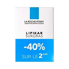 La Roche-Posay Lipikar Surgras Pain Physiologique PROMO 2x150g 2ème -40%