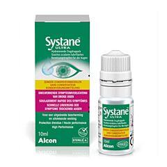 Systane Ultra Sans Conservateur Gouttes Oculaires Lubrifiantes Yeux Secs Flacon 10ml