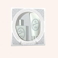 T.LeClerc Geschenkkoffer Le Parfum Poudré 50ml + Le Lait Poudré 75ml