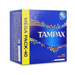 Tampax Super Plus 40 Tampons