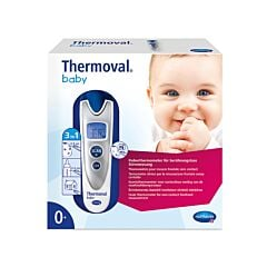 Hartmann Thermoval Baby Thermomètre Frontal Sans Contact 1 Pièce