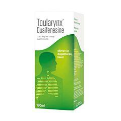 Toularynx Guaifenesine Slijmen/ Hoest Siroop 13,33mg/ml 180ml