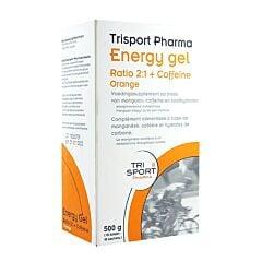 Trisport Pharma Energy Gel Ratio 2:1 + Coffeine Orange 10 Sachets