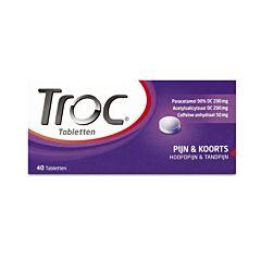 Troc Pijn & Koorts 40 Tabletten