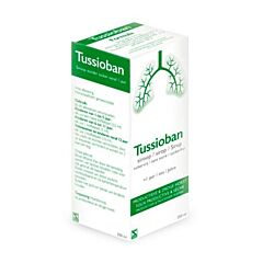 Tussioban Toux Productive & Sèche Sirop Sans Sucre dès 1 an Flacon 200ml