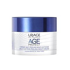 Uriage Age Protect Crème Nuit Peeling Multi-Actions Pot 50ml