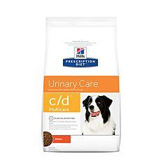 Hills Prescription Diet Canin Urinary Care c/d Multicare au Poulet 5kg