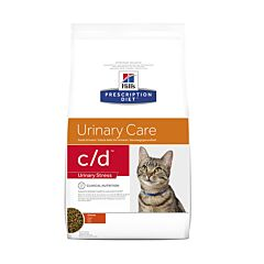 Hills Prescription Diet Urinary Stress C/D Kattenvoer Kip 4kg