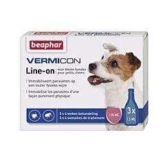 Beaphar Vermicon Line-On Petits Chiens