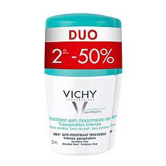 Vichy Déodorant Anti-Transpirant 48h Roll-On PROMO Duo 2x50ml