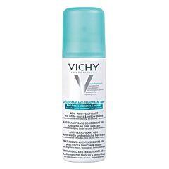 Vichy Déodorant Anti-Transpirant 48h Anti-Traces Jaunes et Blanches Spray 125ml