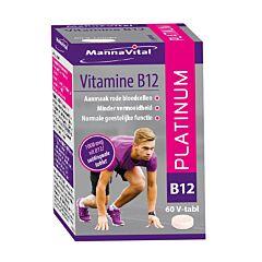 MannaVital Vitamine B12 Platinum 60 V-Tabletten