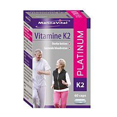MannaVital Vitamine K2 Platinum NF 60 Capsules