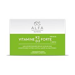 Alfa Vitamine K2 D3 Forte 60 Softgels
